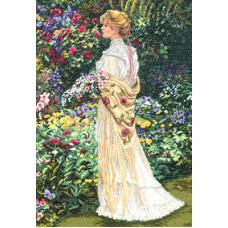 Набор для вышивания крестом Dimensions В ее саду (35119)