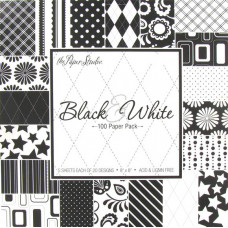 Набор бумаги Чёрное и Белое (168872)