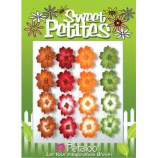 Бумажные цветы Sweet Petites Mulberry Delphiniums - Brown/Green/Orange/Burg (1311-100)