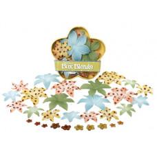 Шелковые цветы Dahlia Box Blend - Cape Gold/Peach/Green/Blue  (1245-170)