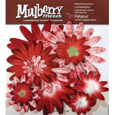 Бумажные цветы Mulberry St. Daisies Large - Tye Dye Red (1310-002)