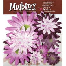 Бумажные цветы Mulberry St. Daisies Large - Tye Dye Lavender (1310-021)