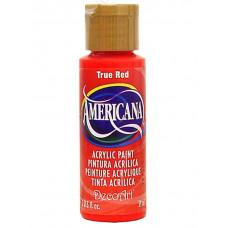 Акриловая краска, классический красный - True Red - (DA129)