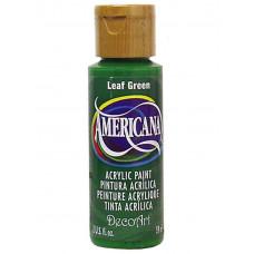 Акриловая краска, лиственно-зелёный - Leaf Green - (DA051)