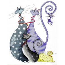 Кошачье семейство - Cat Pack (2490)
