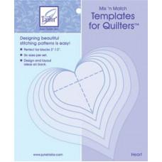 Шаблоны для квилтинга Сердца (JT-412)