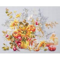 Набор для вышивания крестиком Чудесная игла Осенняя импровизация (120-012)