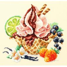 Набор для вышивания крестиком Чудесная игла Ванильное мороженое (120-071)