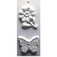 Формы для мыла Бабочка и цветочек (600364)