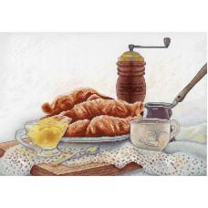 Набор для вышивания крестом М.П.Cтудия Французский завтрак (НВ-655)