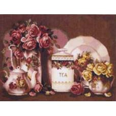 Натюрморт с розами (495)