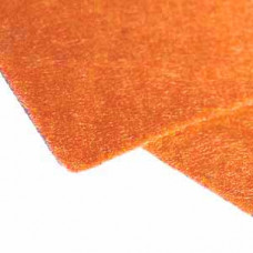 Фетр (войлок) листовой, 31 х 22,5, оранжевый - Orange (256)