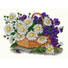 Набор для вышивания крестиком Сделано с любовью Цветы для мамы (ЦВ-014)