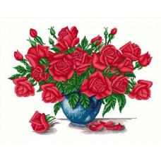 Набор для вышивания крестиком Сделано с любовью Розы для любимой (ЦВ-013)