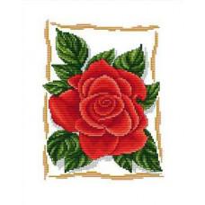 Набор для вышивания крестиком Сделано с любовью Прекрасная роза (ЦВ-005)
