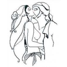 Набор для вышивания крестиком Сделано с любовью Поцелуй страсти (ПМ-06)