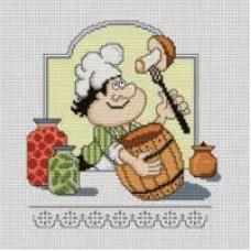 Набор для вышивания крестиком Сделано с любовью Отменная закуска (КТ-04)