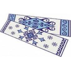 Набор для вышивания крестиком Сделано с любовью Голубые узоры (ВП-01)