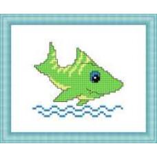 Набор для вышивания крестиком Сделано с любовью Акула (М-030)