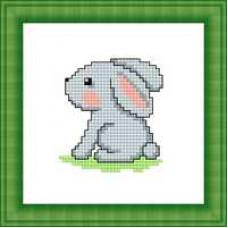 Набор для вышивания крестиком Сделано с любовью Зайчонок (М-014)