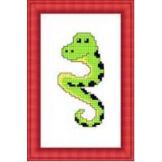 Набор для вышивания крестиком Сделано с любовью Змейка (М-013)