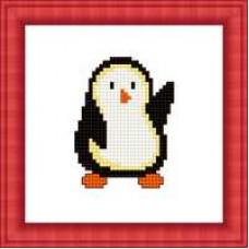 Набор для вышивания крестиком Сделано с любовью Пингвиненок (М-011)