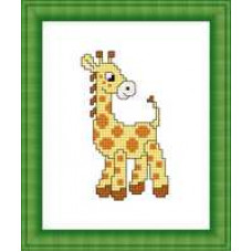 Набор для вышивания крестиком Сделано с любовью Жирафик (М-006)