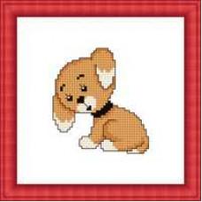 Набор для вышивания крестиком Сделано с любовью Собачка (М-005)