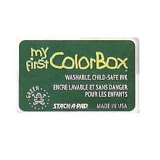 Пигментные чернила Colorbox® My First Pigment Ink Pad Pad Green (68003)