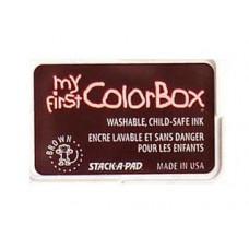 Пигментные чернила Colorbox® My First Pigment Ink Pad Pad Коричневый (68004)