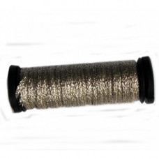 Металлизированная нить Kreinik 1/16 Ribbon 001J