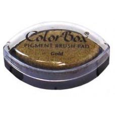 Пигментные чернила - ColorBox® Pigment Ink Pad Cats Eye Metallic Gold (11091)