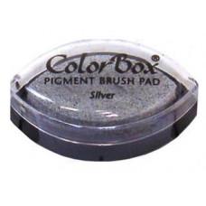 Пигментные чернила - ColorBox® Pigment Ink Pad Cat s Eye Metallic Silver (11092)