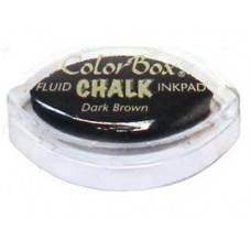 Мелковые чернила ColorBox® Fluid Chalk Ink Pad Cats Eye Dark Brown (71435)