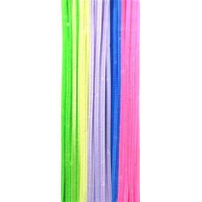 Меховая проволока, Разноцветная Яркая Пастель (DAR1084.98)