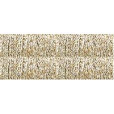 Металлизированная нить Kreinik 1/16 Ribbon 002