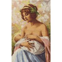 Набор для вышивания крестом Panna Материнская любовь (ВХ-1370)