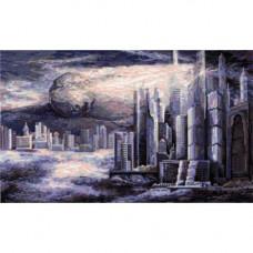 Набор для вышивания крестом Panna Город будущего (ГМ-1372)