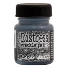 Краска с эффектом трещин (кракелюр) Ranger Distress Crackle Paint - Black Soot (23661)