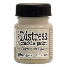 Краска с эффектом трещин (кракелюр) Ranger Distress Crackle Paint - Frayed Burlap (23739)
