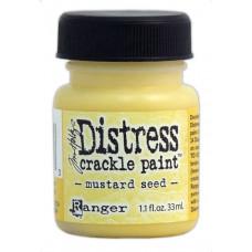 Краска с эффектом трещин (кракелюр) Ranger Distress Crackle Paint - Mustard Seed (23753)