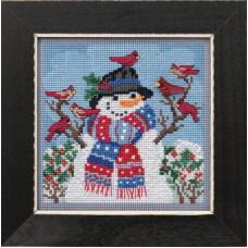 Набор для вышивания Mill Hill Добро пожаловать, зима (MH141931)