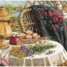 Набор для вышивания крестом Panna Летний натюрморт (Н-1488)