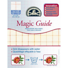 Канва DMC с исчезающей разметкой, экрю - Magic Guide (Ecru DC27MG)