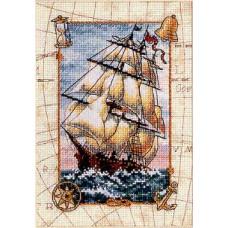 Набор для вышивания крестом Dimensions Морское путешествие (06847)