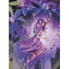 Набор для вышивания крестом Риолис Девочка - Эльф (РТ-0011)