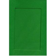 Заготовка для открытки Зеленая, прямоугольник (7301)