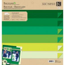 Двухсторонний картон, Зеленый (907003)