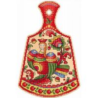 Набор для вышивания крестом М.П.Cтудия Птица счастья (О-009)