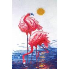 Набор для вышивания крестиком Чарівна мить Фламинго (151)